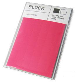 BLOCK-STICKER-Pink