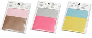 TRIANGLE STICKER-pink-brun